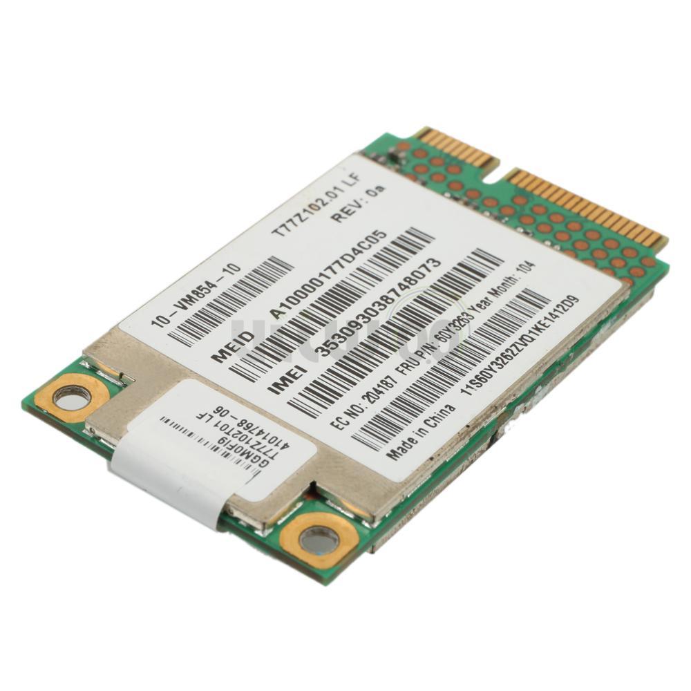 New GOBI2000 Wifi Built-in Wireless Card for Lenovo Thinkpad W510 L412 Notebook | eBay